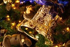 Bell de oro Imagen de archivo libre de regalías