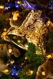 Bell de oro Fotografía de archivo