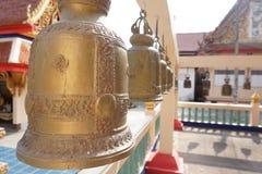 Bell de oro Foto de archivo