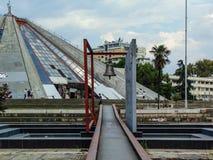 Bell de paix de Tirana photos libres de droits