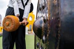 Bell in den großen Tempeln sind für die Hingabe stockfotos