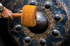 Bell in den großen Tempeln sind für die Hingabe stockbild