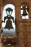 Bell der Santa- Mariakirche Stockbild