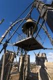 Bell di Torre del Mangia - Siena Italy Immagini Stock Libere da Diritti