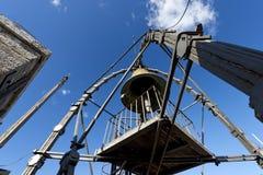 Bell di Torre del Mangia - Siena Italy Fotografie Stock