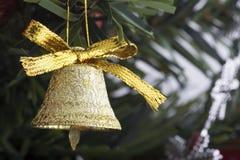 Bell dorata Immagini Stock
