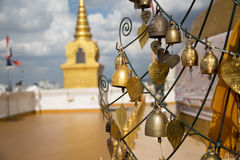 Bell dorata Fotografie Stock
