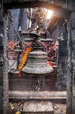 Bell on Durbar square in Kathmandu Royalty Free Stock Photos