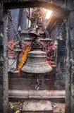 Bell on Durbar square in Kathmandu Royalty Free Stock Photos