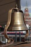 Bell e igreja Imagens de Stock