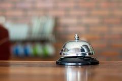 Bell en cafetería Imagen de archivo