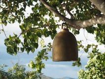 Bell en el templo budista Fotos de archivo