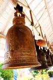 Bell en el templo en Tailandia Fotos de archivo