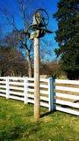Bell en granja Fotos de archivo libres de regalías