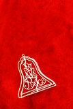 Bell en rojo Imagenes de archivo