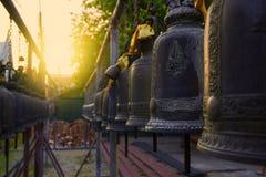 Bell en templo Imagen de archivo
