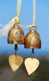 Bell en un templo budista Fotos de archivo libres de regalías