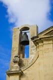 Bell en una torre de iglesia Fotografía de archivo