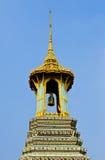 Bell et pagoda dans le temple Photographie stock libre de droits
