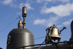 Bell et sifflement Photo libre de droits