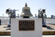 Bell für alle Boston-Schiffe Stockfoto