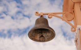 Bell für Warnung Stockfoto