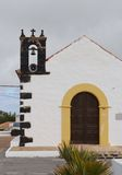 The bell of a fairy tale church on Fuerteventura Royalty Free Stock Photos