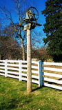 Bell on Farm. An image of an old bell for calling on the farm royalty free stock photos
