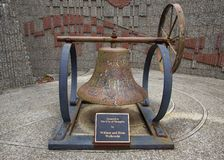 Bell at the Federal Building in Memphis, TN Royalty Free Stock Photography
