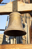 Bell on a galleon Royalty Free Stock Photography