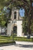 Bell gate Katholiki Ekklisia Maria Kremasti Rhodes Stock Photos