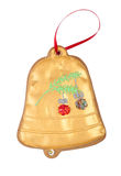 Bell gingerbread cookie Stock Images