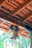 Bell, Goa. The bell in the kitchen, Asian culture, Goa, India Stock Photo