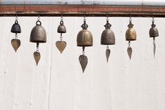 Bell Gold Mountain thailand. Vintage bell gold Mountain Thailand Stock Photos