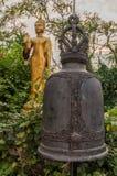 Bell from Golden Mount Temple (Wat Sakate), Bangkok, Thailand Stock Photos