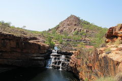 Bell gorge, kimberley, western australia Royalty Free Stock Photography