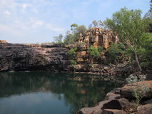 Bell gorge, kimberley, western australia Royalty Free Stock Image
