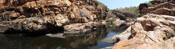 Bell gorge, kimberley, western australia Royalty Free Stock Images