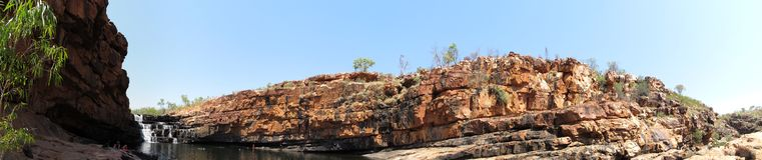 Bell gorge, kimberley, western australia Royalty Free Stock Image