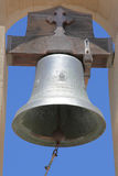 Bell of a greek church Royalty Free Stock Photos