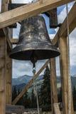 Bell. Green Mountains in Romania Stock Photos