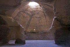 Bell-Höhle bei Beit Guvrin Lizenzfreies Stockbild