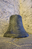 Bell of Haghia Sophia Church. Bell in Haghia Sophia Museum, Fatih district of Istanbul, Turkey Royalty Free Stock Image