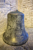 Bell of Haghia Sophia Church. Bell in Haghia Sophia Museum, Fatih district of Istanbul, Turkey Royalty Free Stock Photography