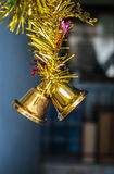 Bell hanging holiday season. Stock Photo