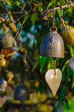 Bell hanging on a tree Stock Photo