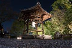 Bell hermosa del templo de Kodai-ji en Higashiyama imagenes de archivo