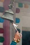 Bell in an hinduist temple, Kathmandu, Nepal Royalty Free Stock Photo