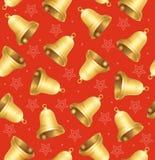 Bell-Hintergrund-Muster Vektor Lizenzfreies Stockfoto