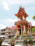 Bell house of a Thai buddhism temple Stock Photography